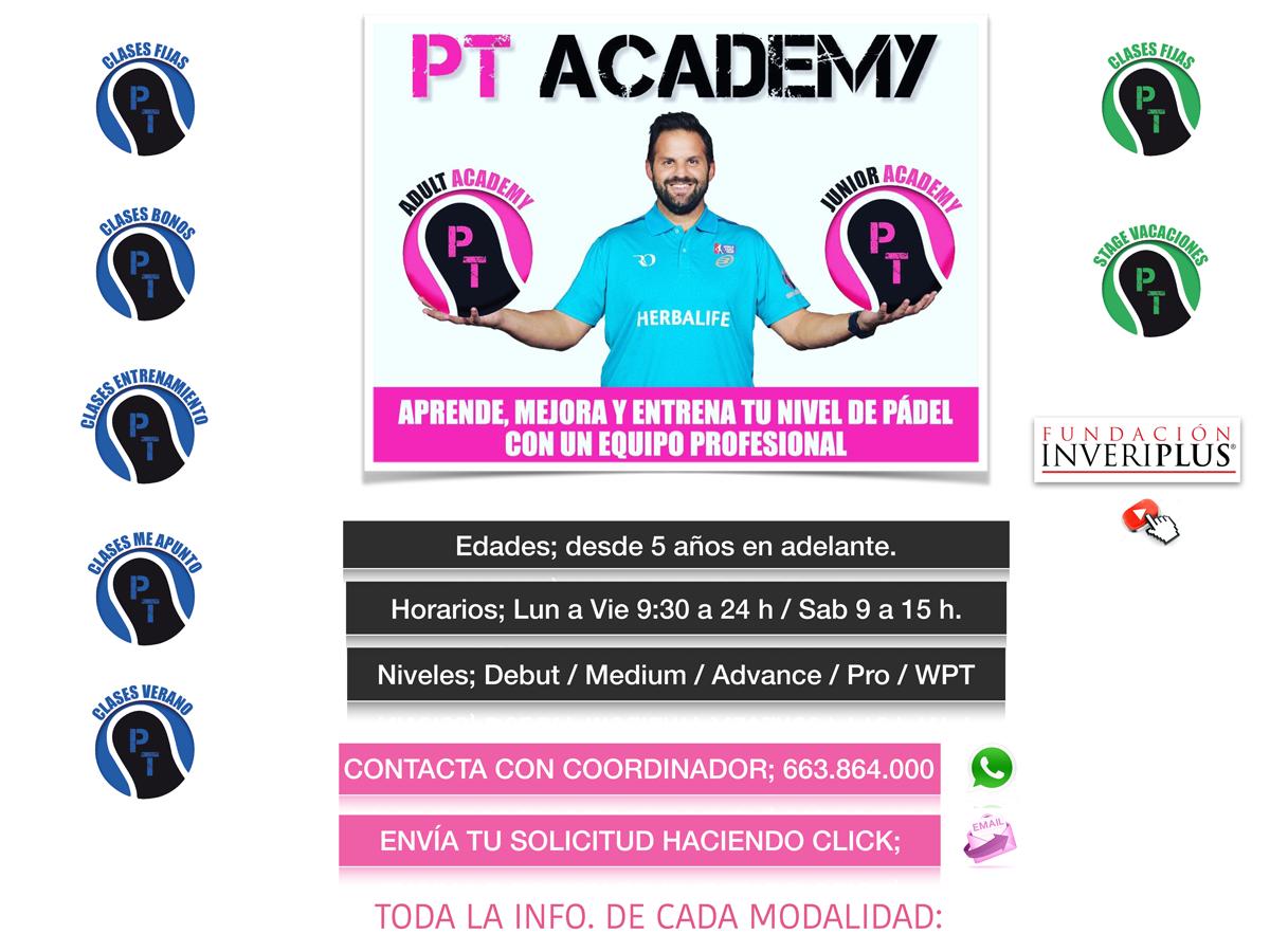 Modalidades PT Academy